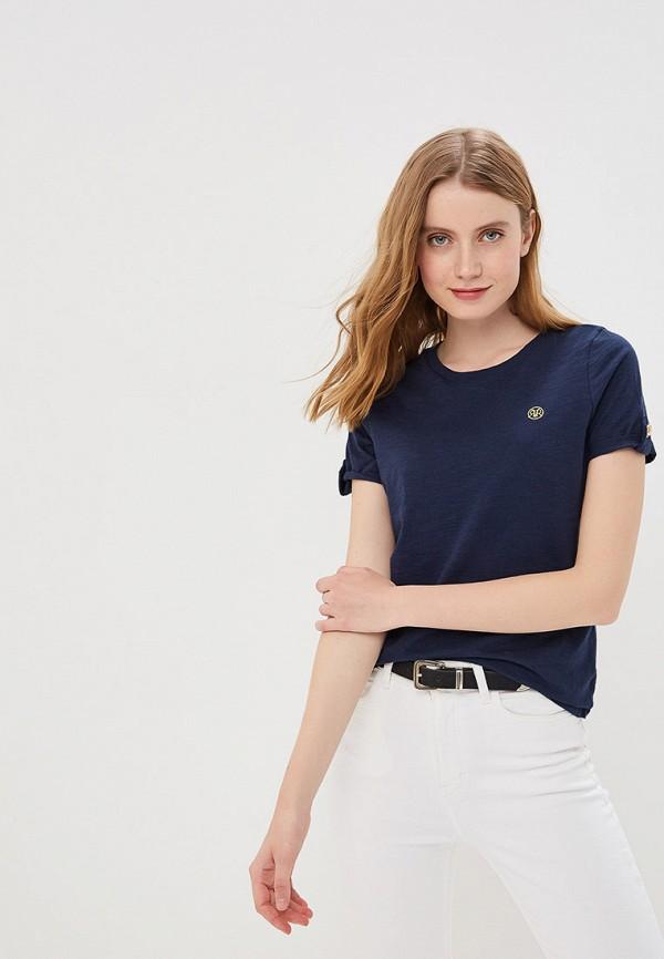 Фото - женскую футболку River Island синего цвета