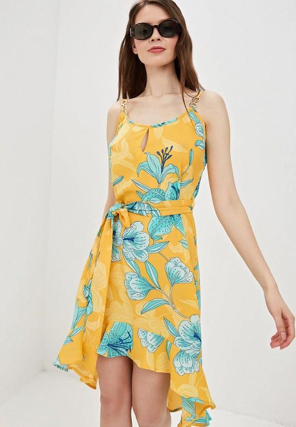 платье платье river island, желтое