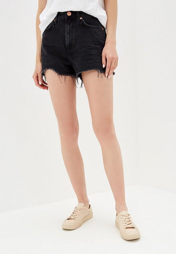 женские джинсовые шорты river island, черные