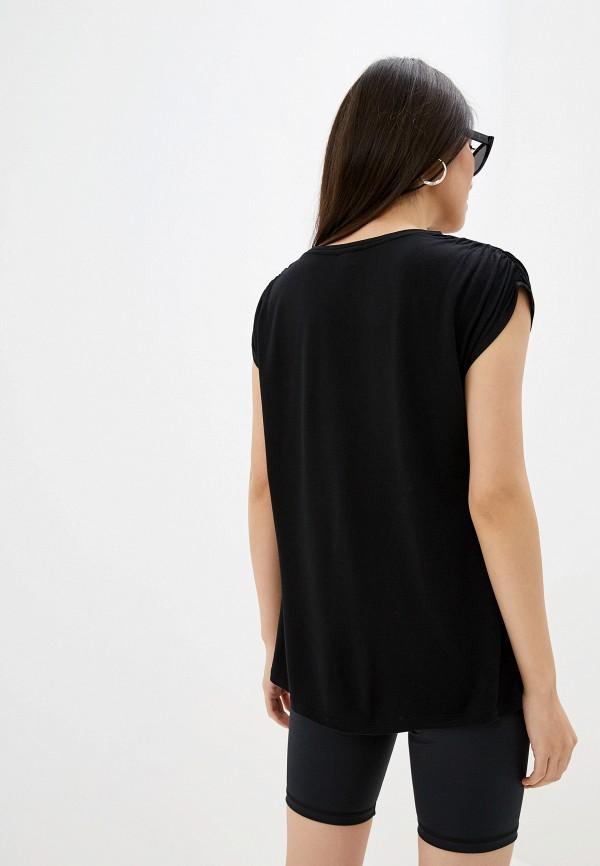 Фото 3 - женскую футболку River Island черного цвета