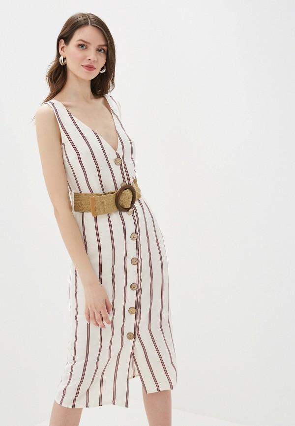 женское повседневные платье river island, белое