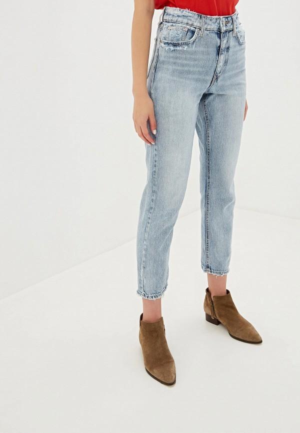 женские прямые джинсы river island, голубые