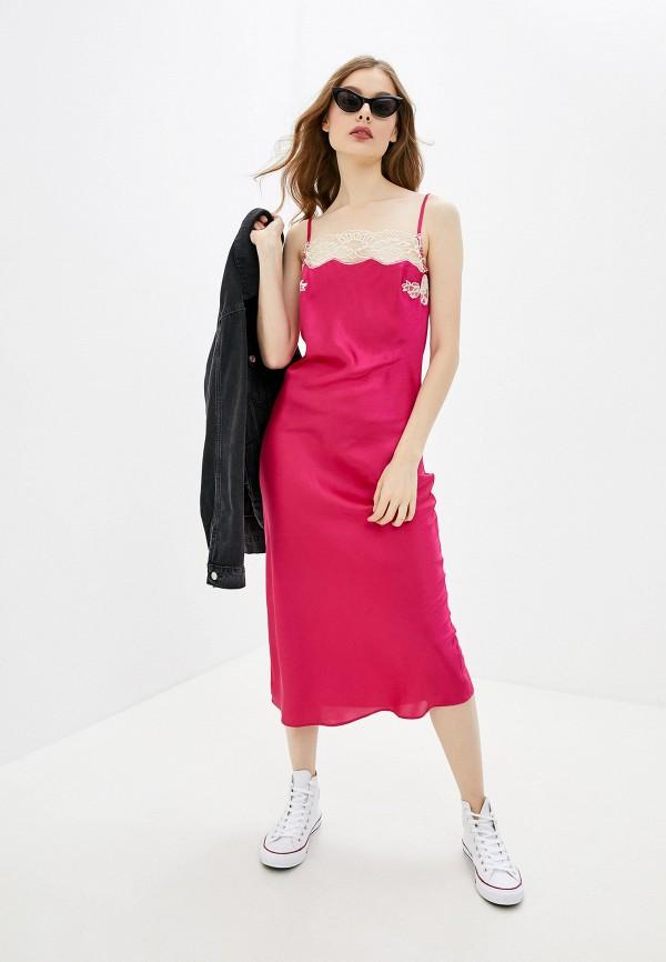 женское платье river island, розовое