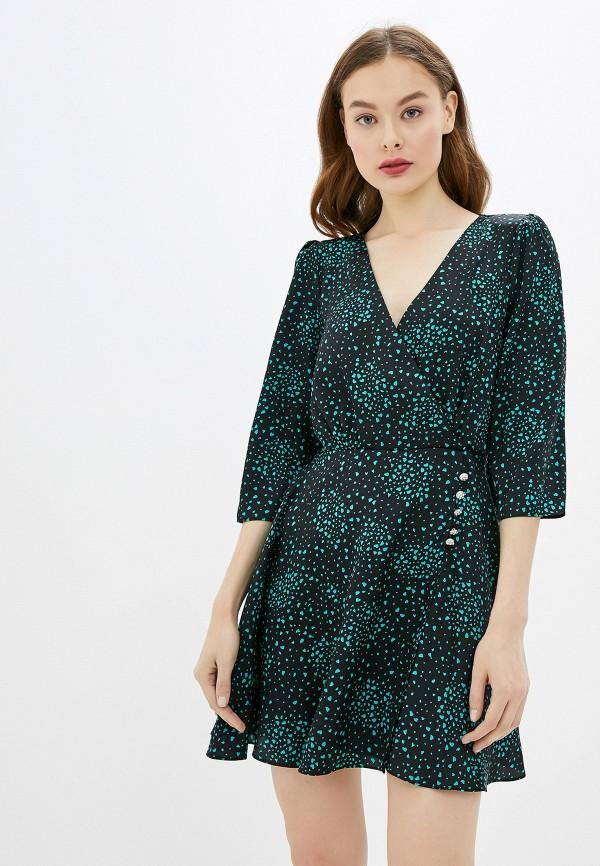 женское повседневные платье river island, зеленое