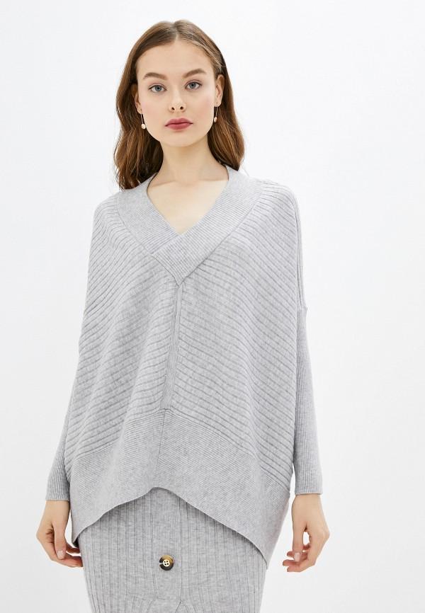 женский пуловер river island, серый