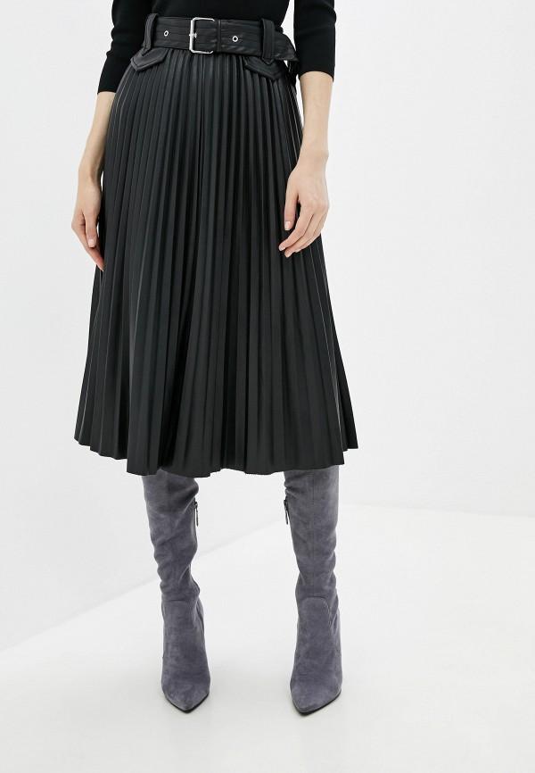женская юбка river island, черная