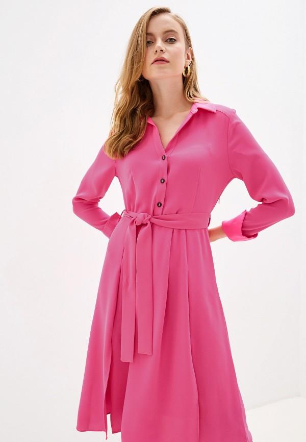 женское повседневные платье river island, розовое