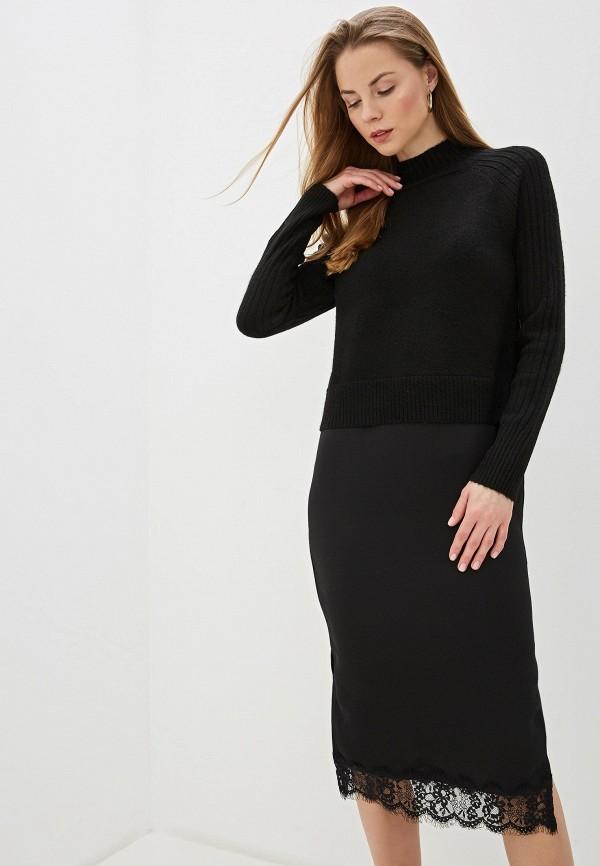 женское повседневные платье river island, черное
