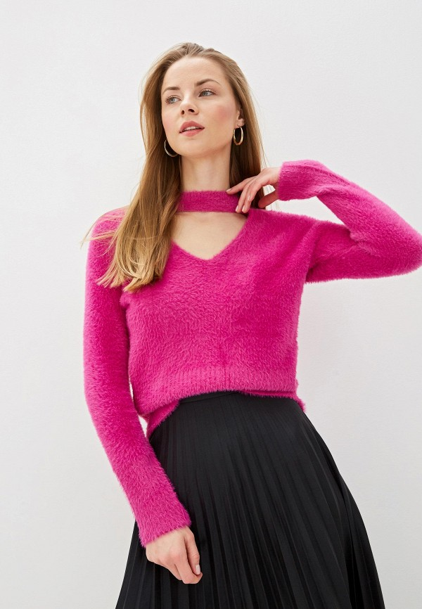 женский пуловер river island, розовый