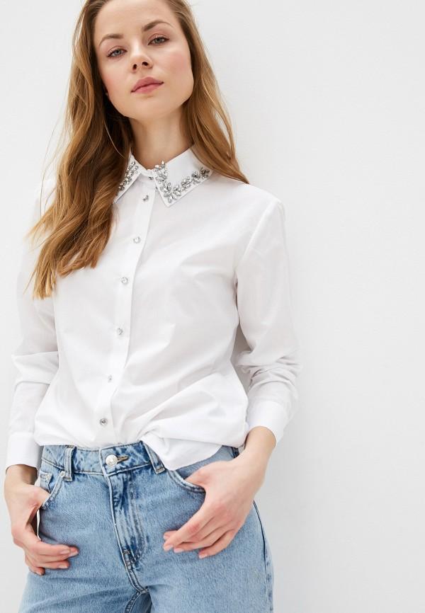 женская рубашка с длинным рукавом river island, белая
