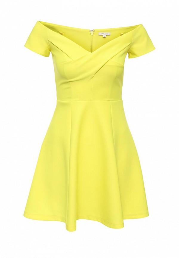 Фото - женское платье River Island желтого цвета