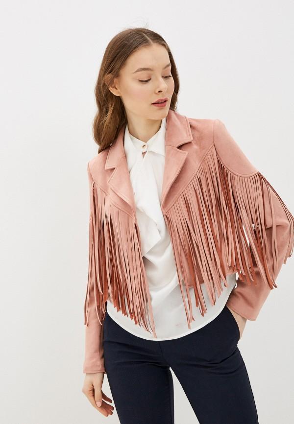 женская куртка river island, розовая