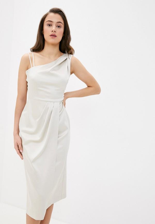 женское вечерние платье river island, белое
