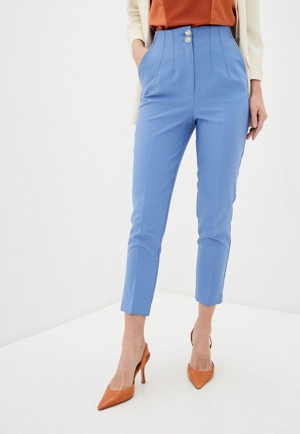 женские повседневные брюки river island, голубые