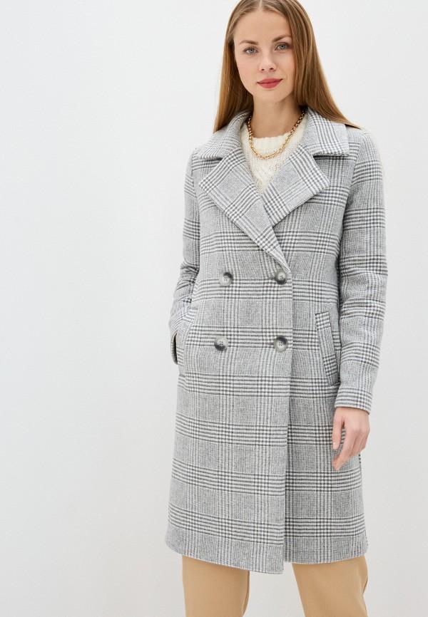 женское пальто river island, серое