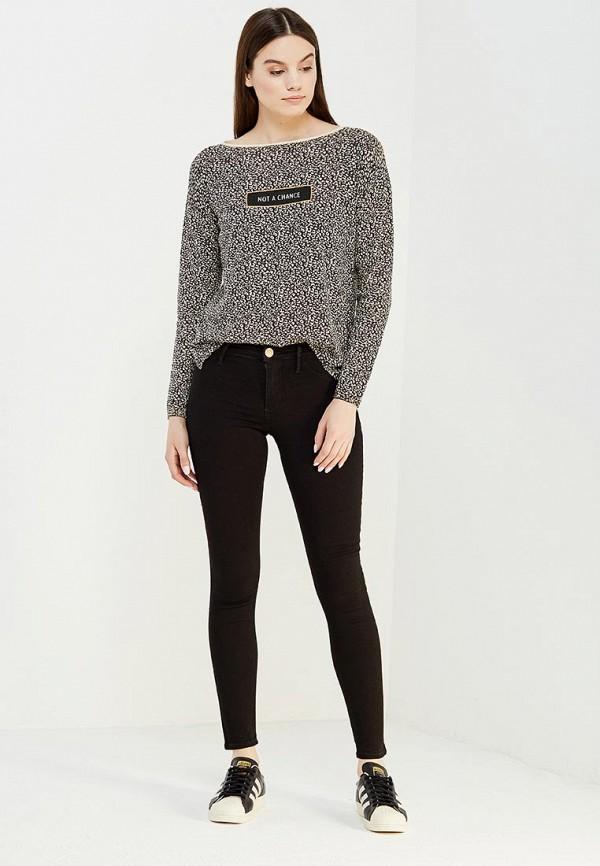 Фото 2 - женские джинсы River Island черного цвета