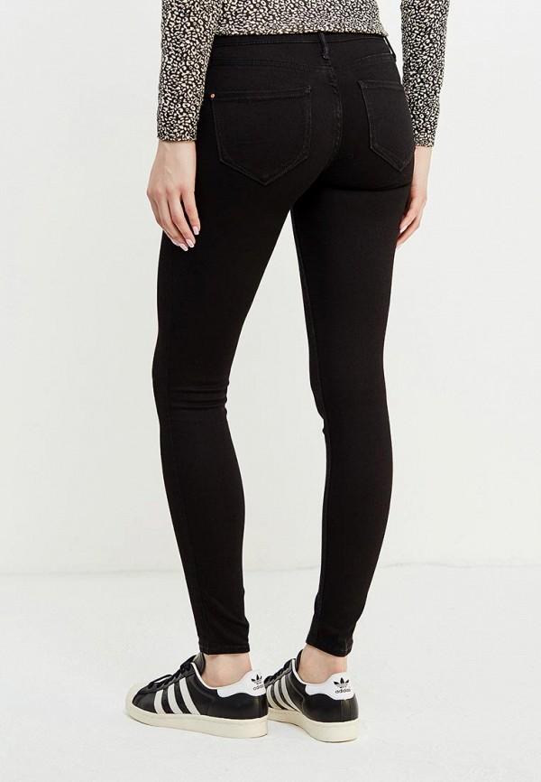 Фото 3 - женские джинсы River Island черного цвета