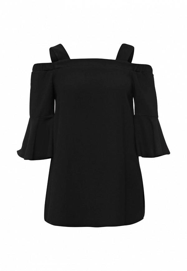 женская блузка river island, черная