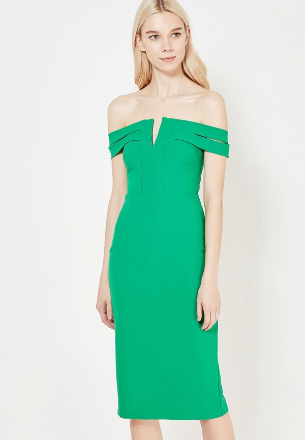 женское платье river island, зеленое