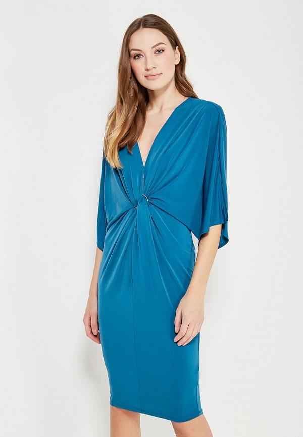 женское повседневные платье river island, синее