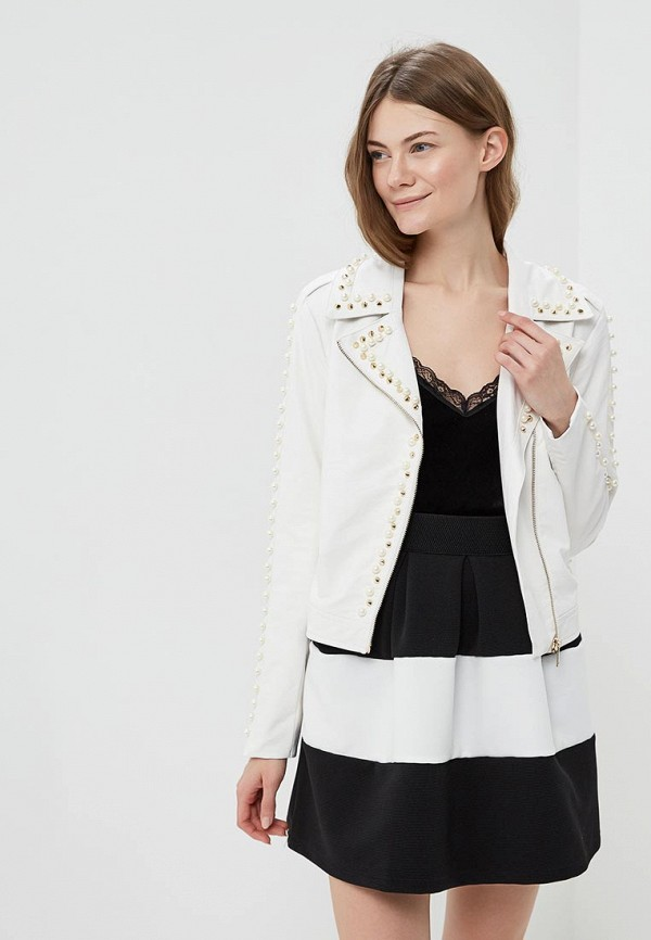 Куртка кожаная Rinascimento Rinascimento RI005EWANKF3 rinascimento cfc0013747002