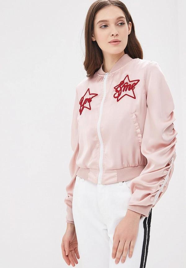 Купить Куртка Rinascimento, ri005ewbhvv0, розовый, Весна-лето 2018