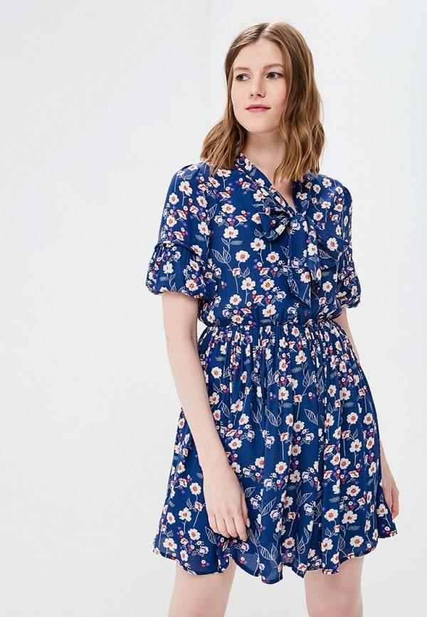 женское платье rinascimento, синее