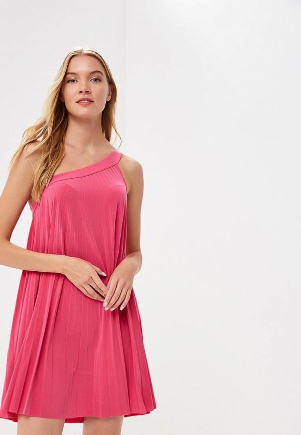 женское повседневные платье rinascimento, розовое