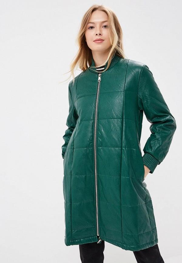Купить Куртка кожаная Rinascimento, RI005EWCCGB7, зеленый, Осень-зима 2018/2019