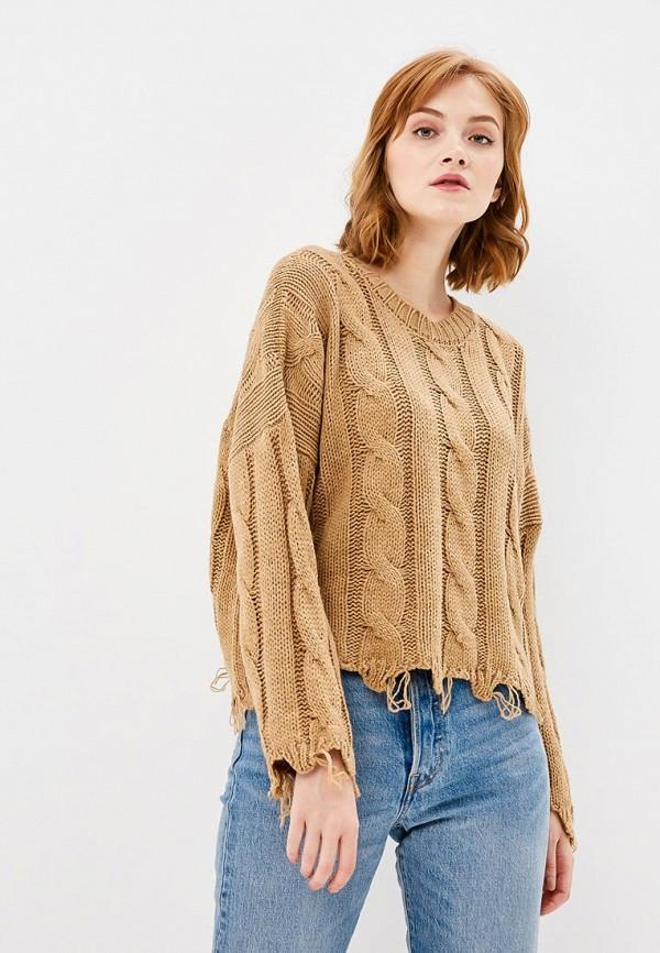 Купить Джемпер Rinascimento, RI005EWCCGJ2, коричневый, Осень-зима 2018/2019