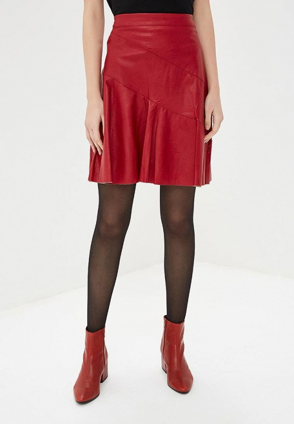 женская юбка rinascimento, красная