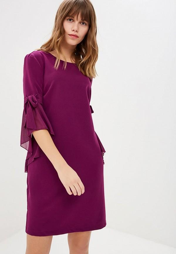 женское повседневные платье rinascimento, фиолетовое