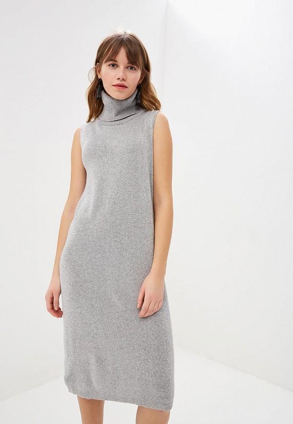 женское платье rinascimento, серебряное