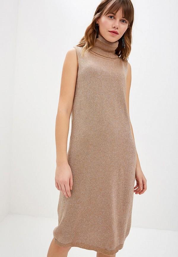 женское платье rinascimento, золотое