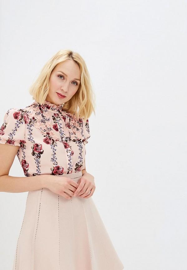 женская блузка rinascimento, розовая