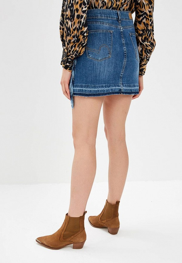 Фото 3 - женскую юбку Rinascimento синего цвета