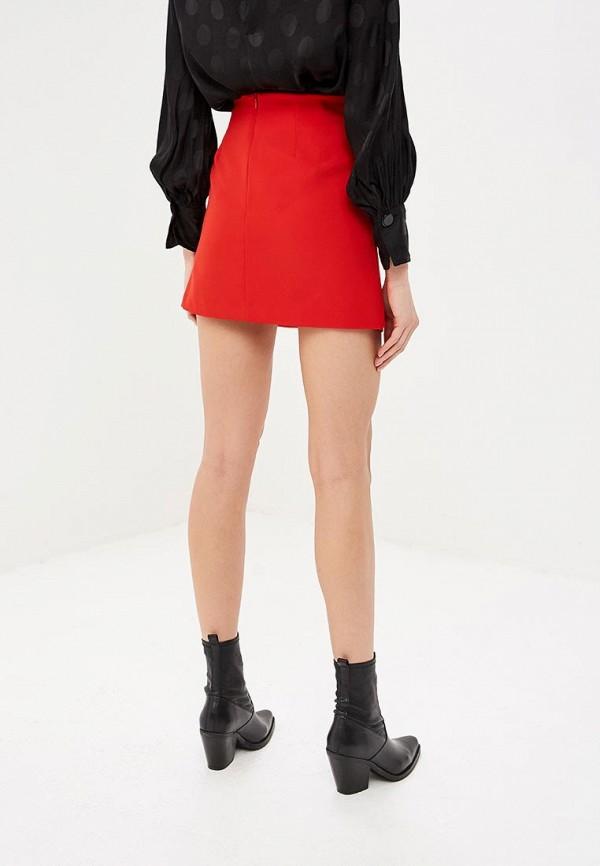 Фото 3 - женскую юбку Rinascimento красного цвета