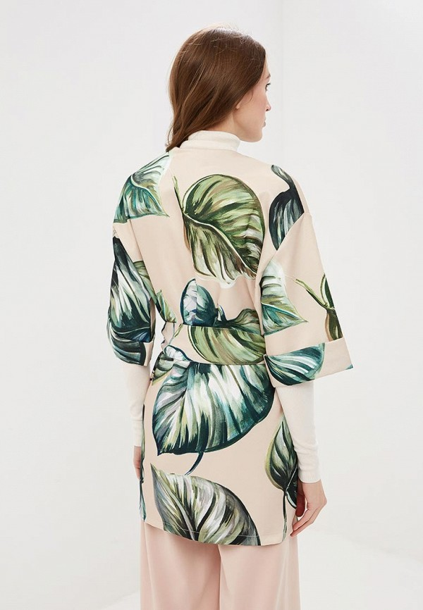 Фото 3 - женское пальто или плащ Rinascimento бежевого цвета