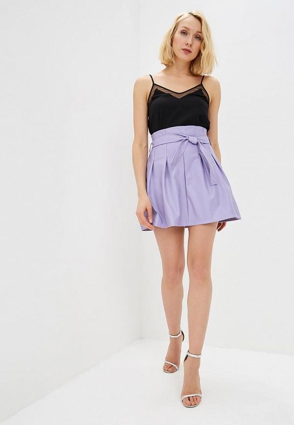 Фото 2 - женскую юбку Rinascimento фиолетового цвета