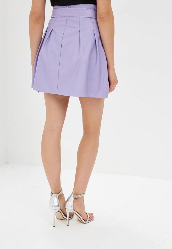 Фото 3 - женскую юбку Rinascimento фиолетового цвета
