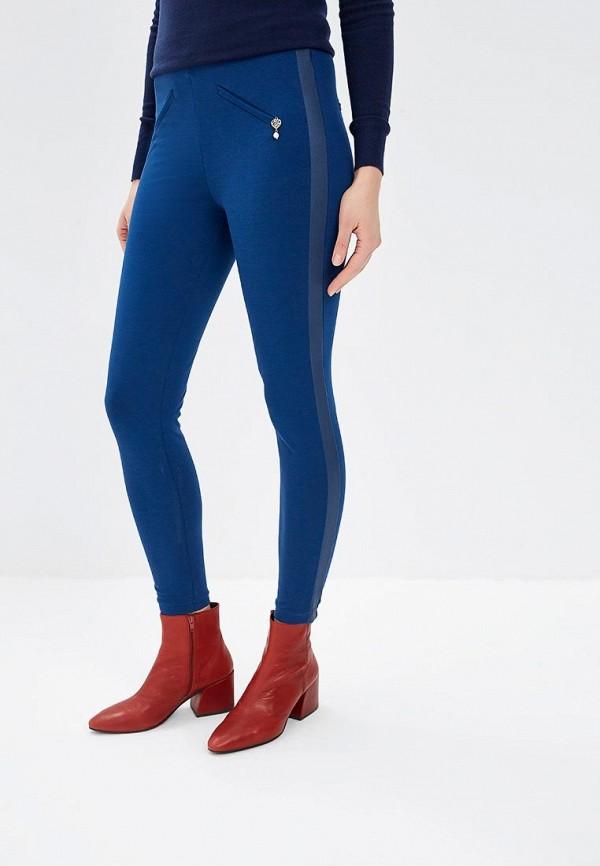 женские леггинсы rinascimento, синие