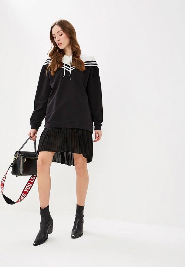 Фото 2 - женскую юбку Rinascimento черного цвета