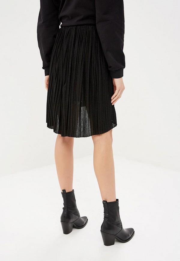 Фото 3 - женскую юбку Rinascimento черного цвета