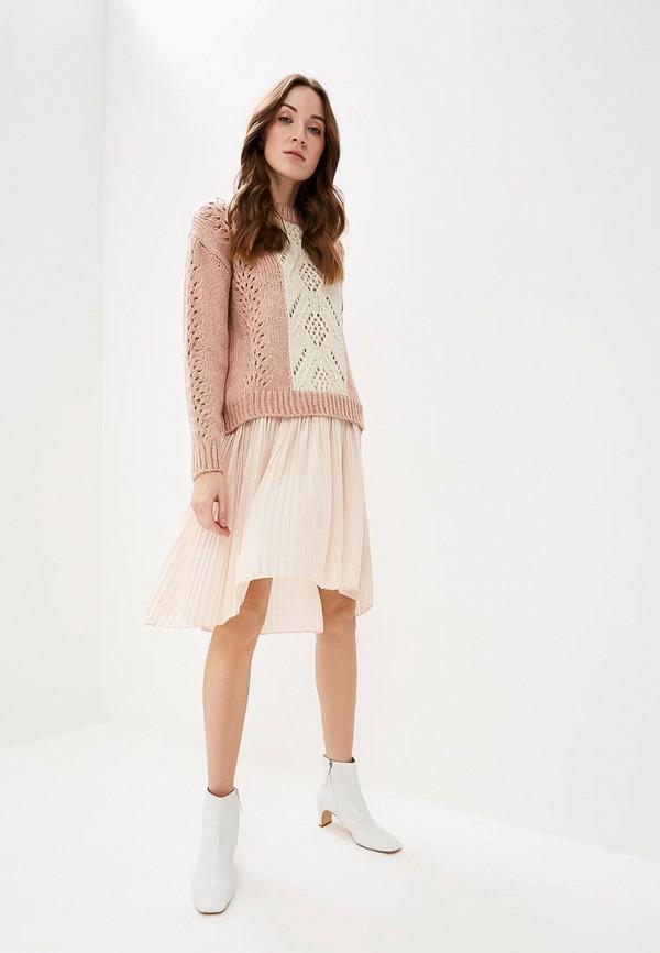 Фото 2 - женскую юбку Rinascimento розового цвета