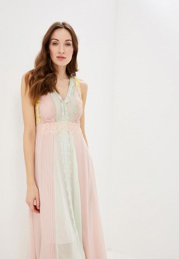 Фото 2 - женское вечернее платье Rinascimento розового цвета