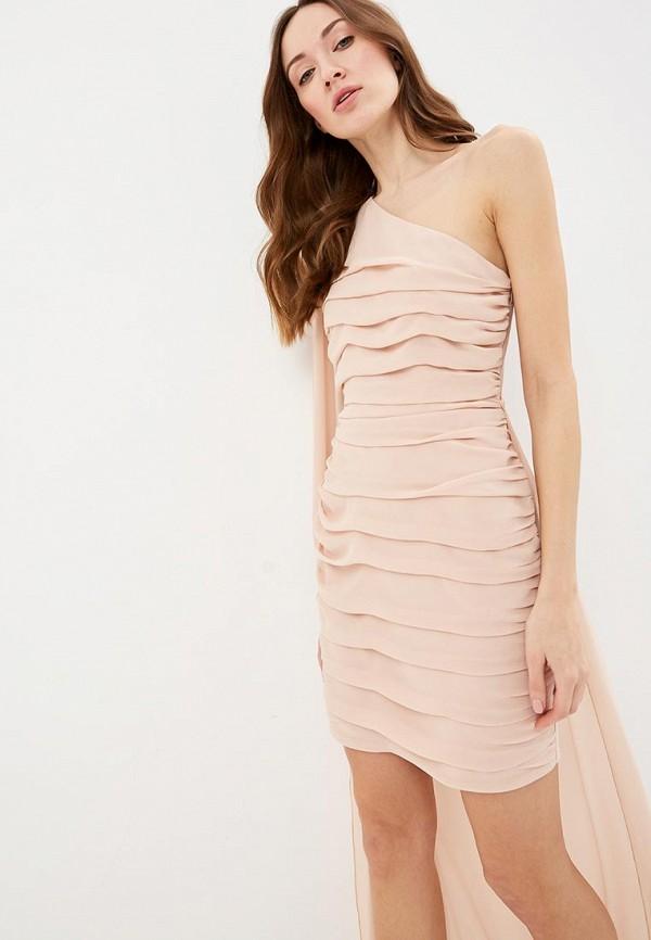 Фото 2 - женские брюки Rinascimento розового цвета