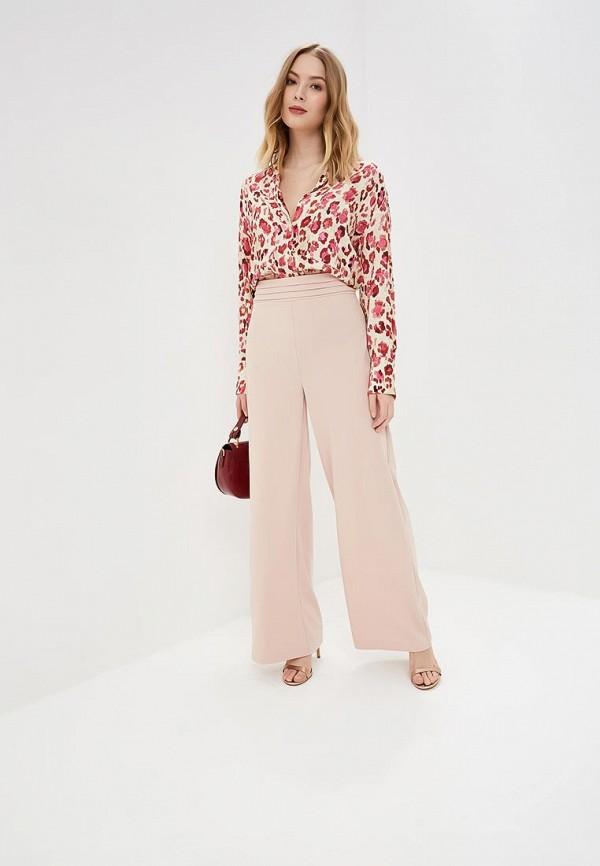 Фото 5 - женские брюки Rinascimento розового цвета