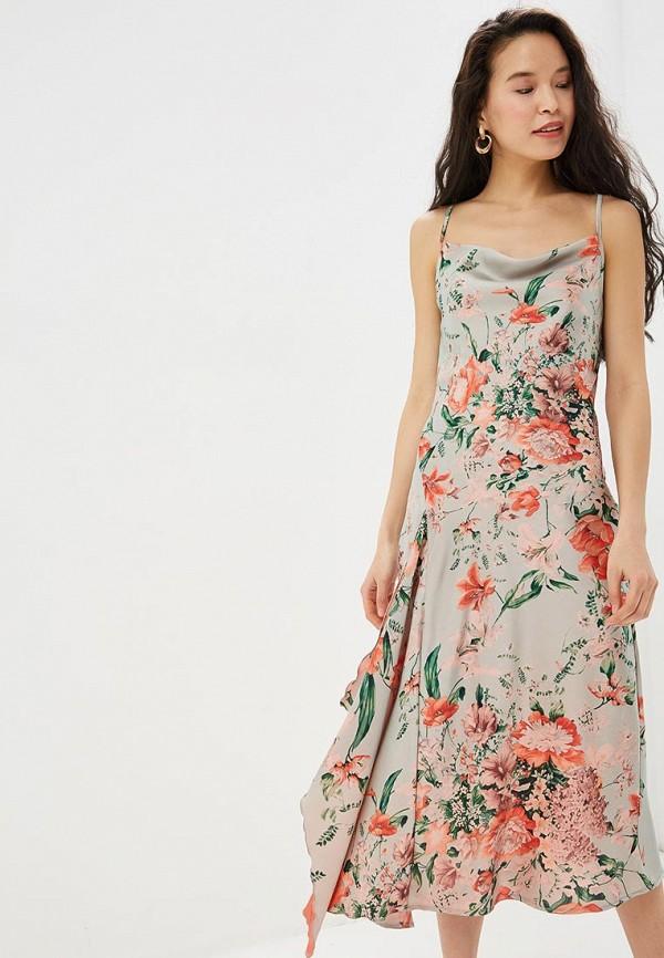 Купить Платье Rinascimento, ri005ewethy0, бежевый, Весна-лето 2019