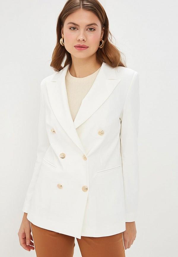 женский пиджак rinascimento, белый