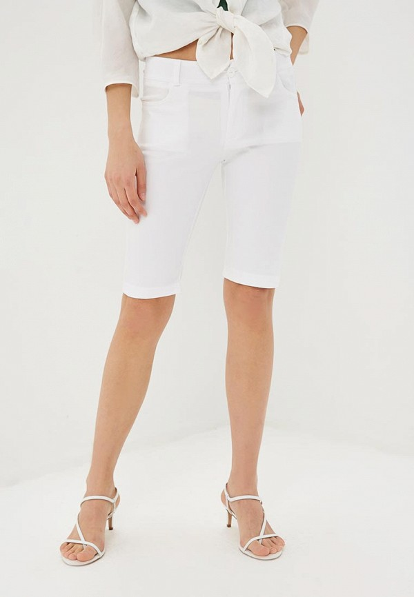 женские повседневные шорты rinascimento, белые